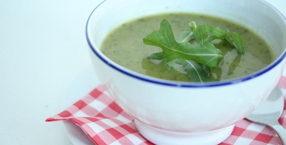 courgette broccoli soep