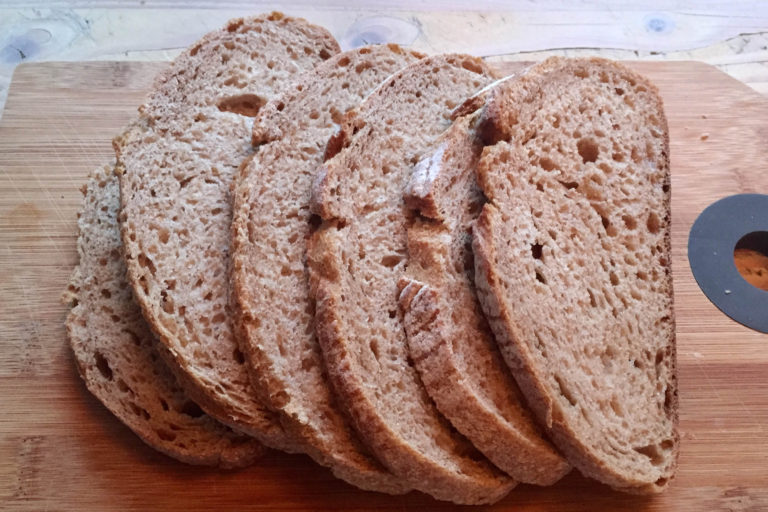 Voordelen, brood, natuurlijk, gezond, volkoren, zuurdesem