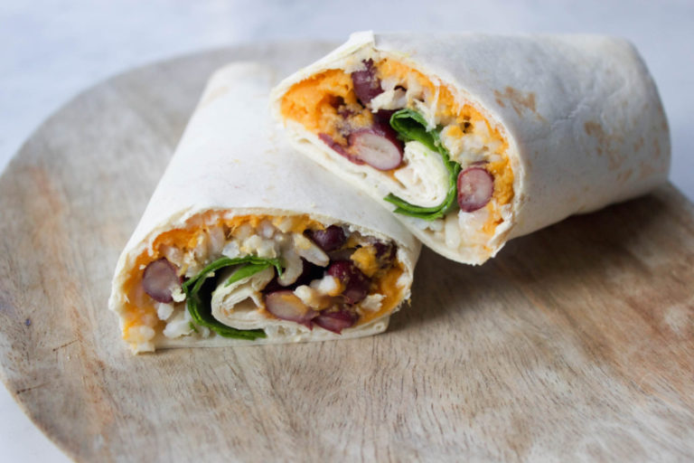 Living The Green Life, Vegan Burrito