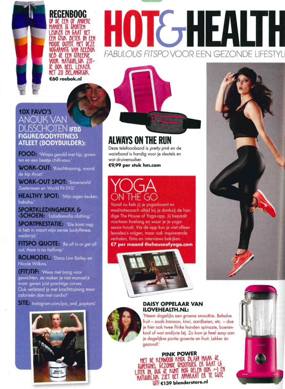 cosmogirl nr 1 januari 2015 _i love health