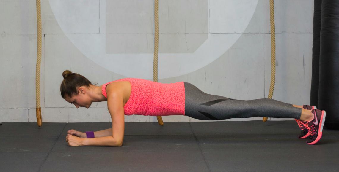 daisy plank sport trainen fitness