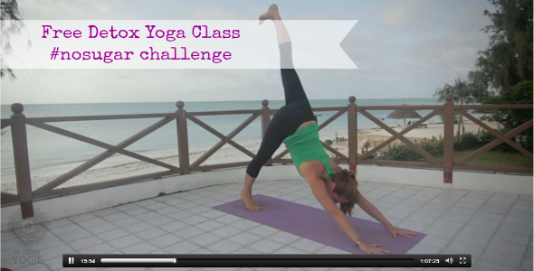 detox yoga class - be more yogic