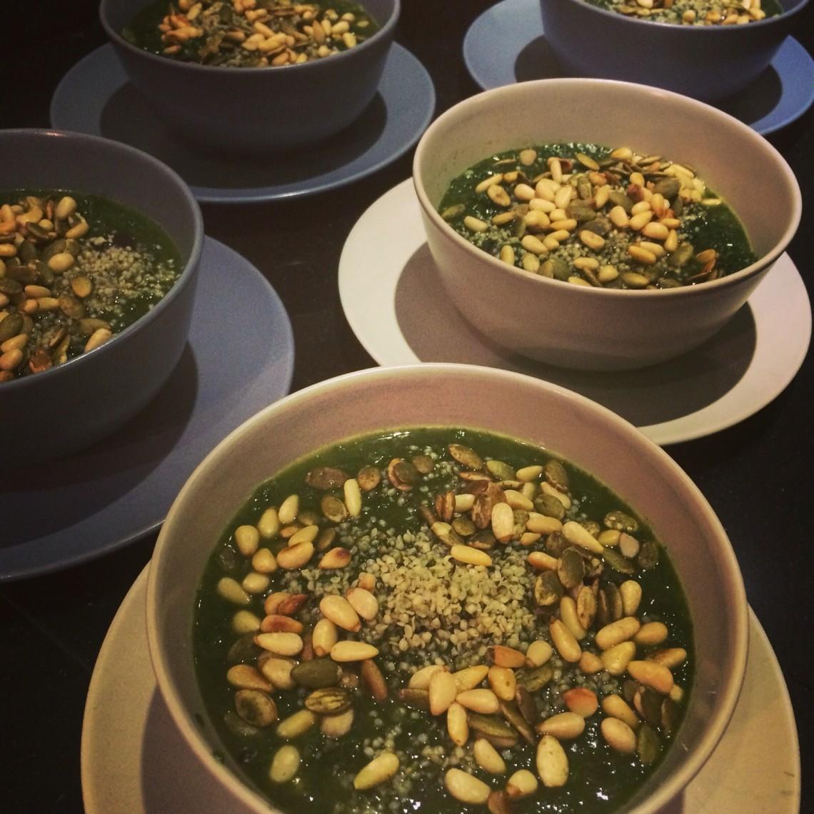 spinazie detox soep