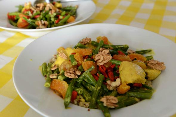 Snijbonen, kalkoen, quinoa, abrikoos - dagboek health lover