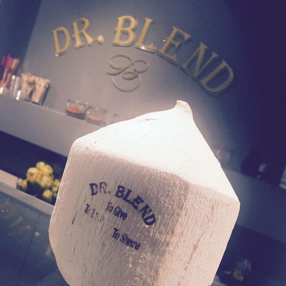 dr blend, kokosnoot