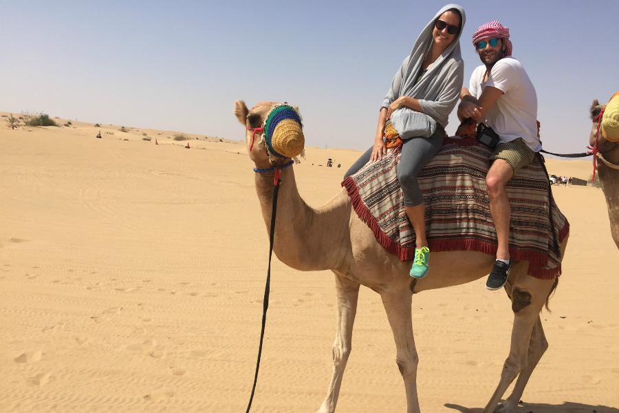 dubai tips kameel woestijn