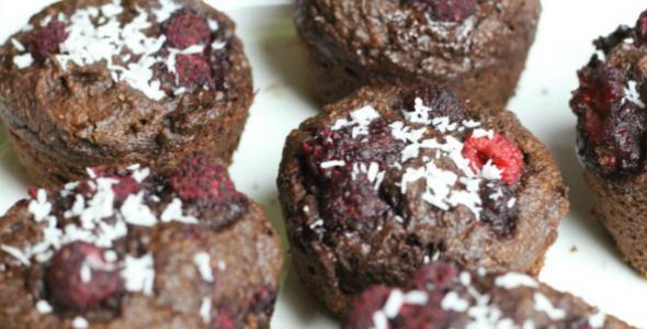 gezonde chocolade muffins eetdagboek thebeautyassistant.nl