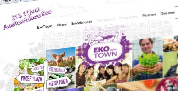 EkoTown, biologisch lifestyle festival