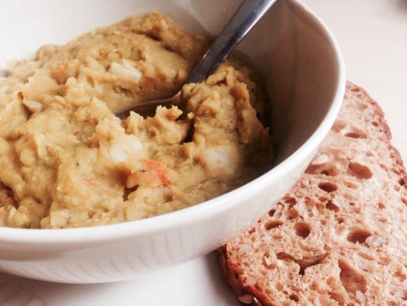 vegetarische erwtensoep, winterse recepten
