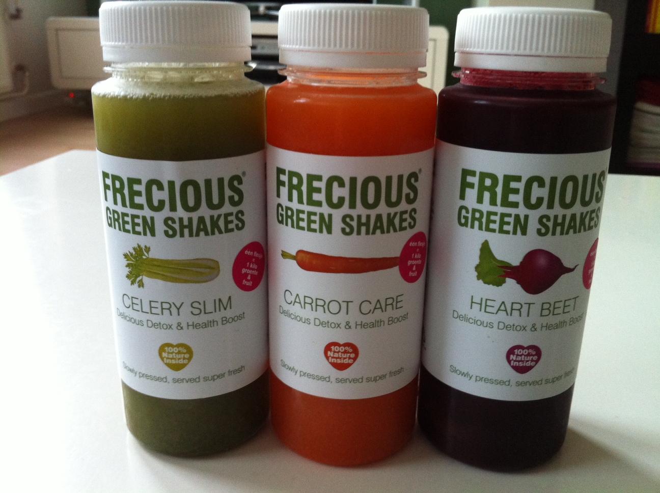 Frecious Green Shakes test