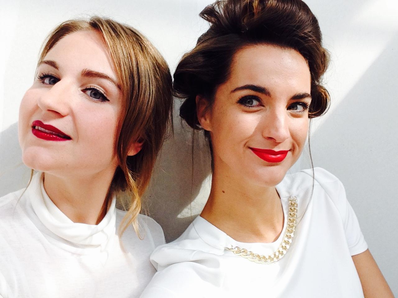 Selfie met mooie Danique van Girlscene.nl