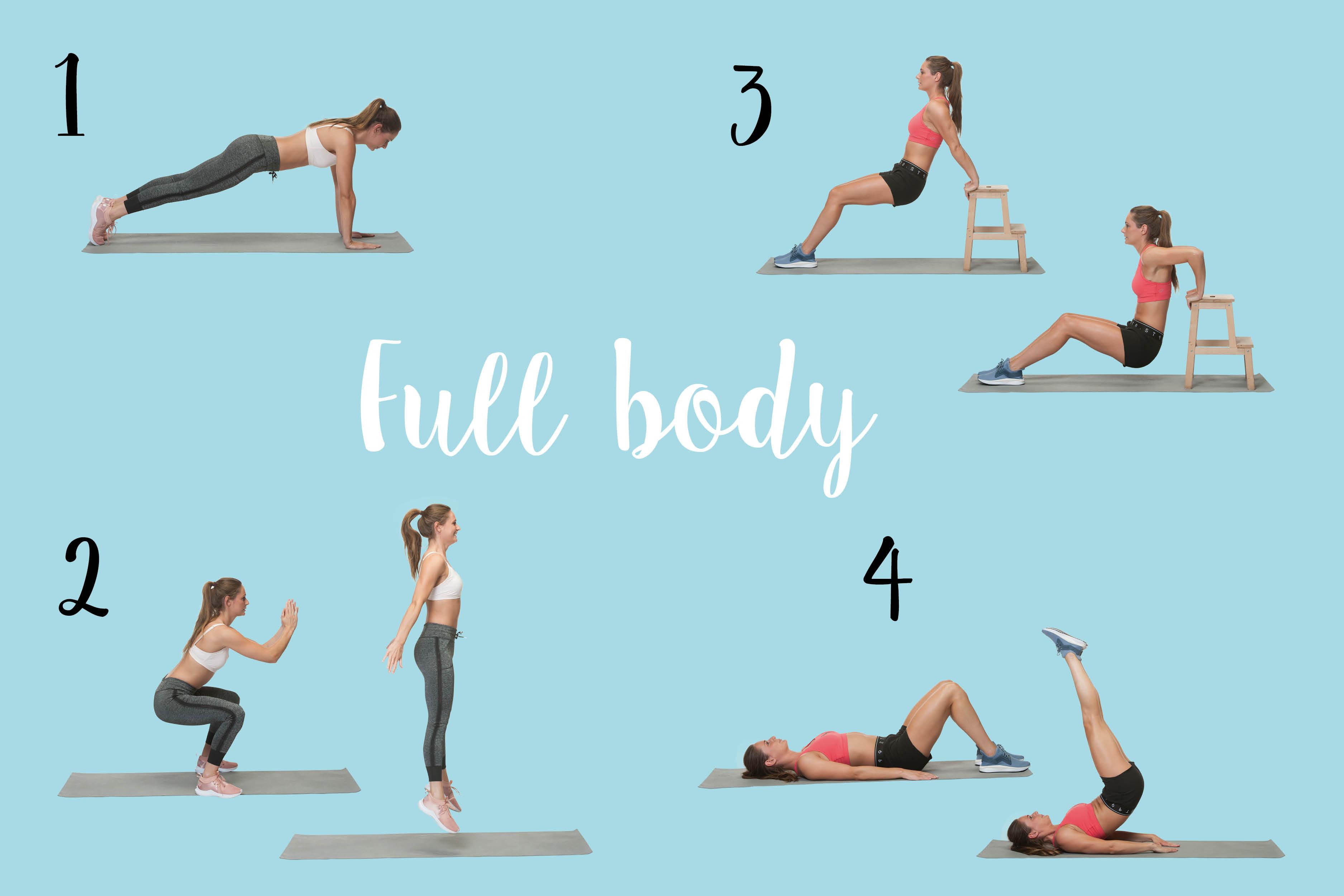 Verbazingwekkend Doe je mee? Full body workout voor thuis of in de gym - I Love Health SK-34