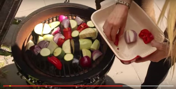 gegrilde groenten bbq video
