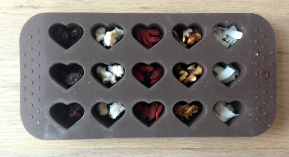 gezonde bonbons vulling