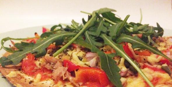 gezonde en snelle pizza ul