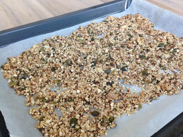 granola bakplaat