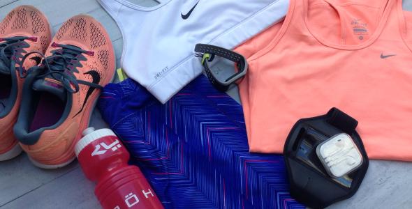 halve marathon update kleding