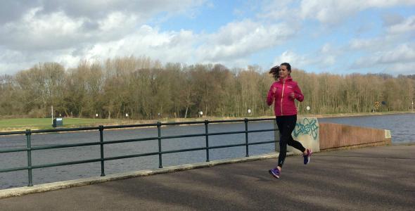 hardlopen amsterdamse bos, bosbaan_uitgelicht