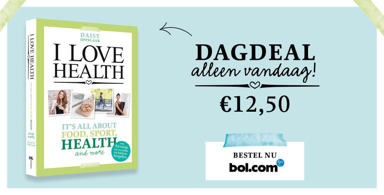 dagdeal i love health boek bol.com