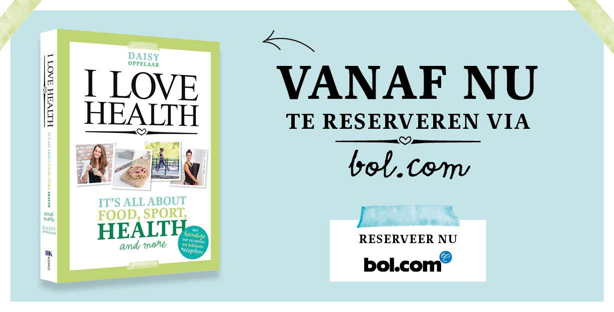I Love Health boek reserveren bol.com