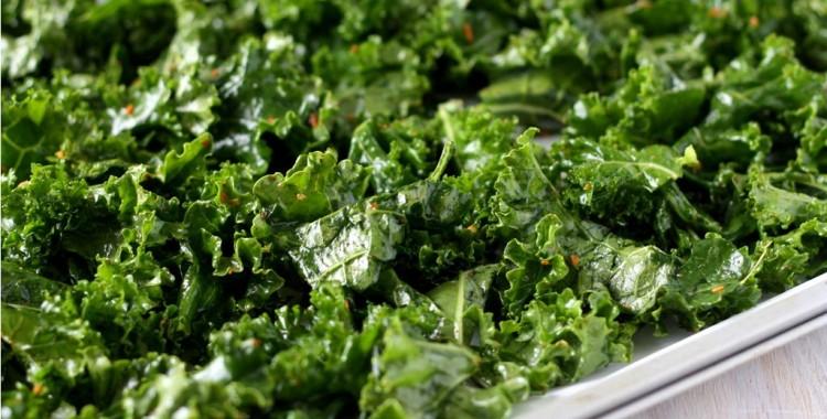 Kale Chips - bereiding boerenkool chips