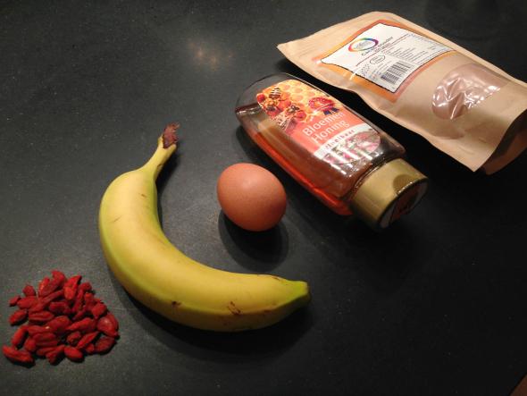 ingredienten choco mug cake