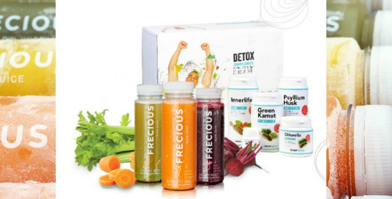 innerwave detox pakket met frecious