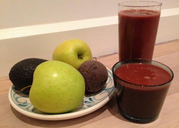 Sap, detox, fruit