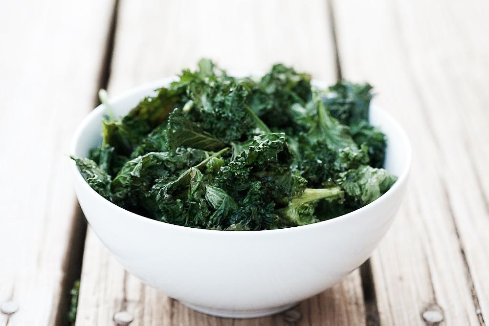 Kale Chips - gezonde boerenkool chips