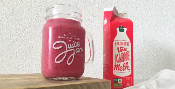 karnmelk smoothie