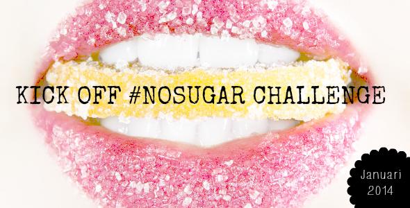 kick off no sugar challenge - i love health - nosugar challenge