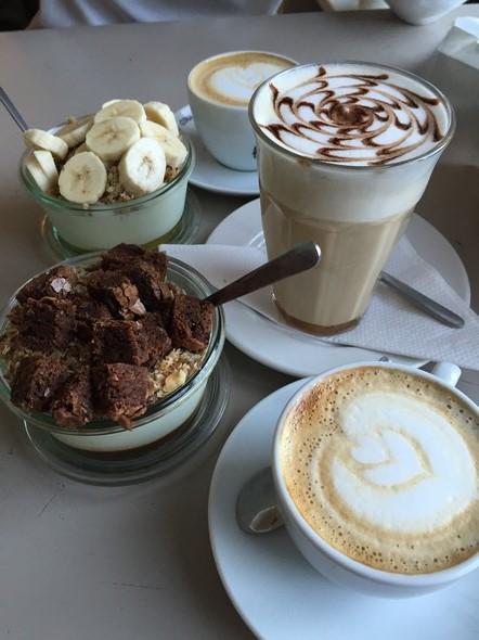koffie enzo brownie fitgirl chris