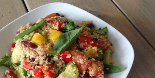 mango quinoa salade