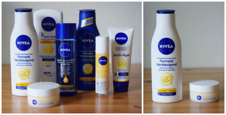 nivea Q10plus producten
