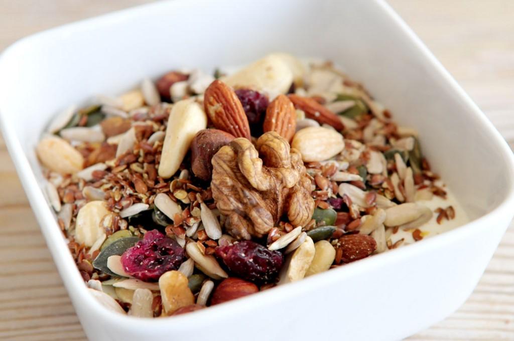 Noten en zaden ; goed voor je brains