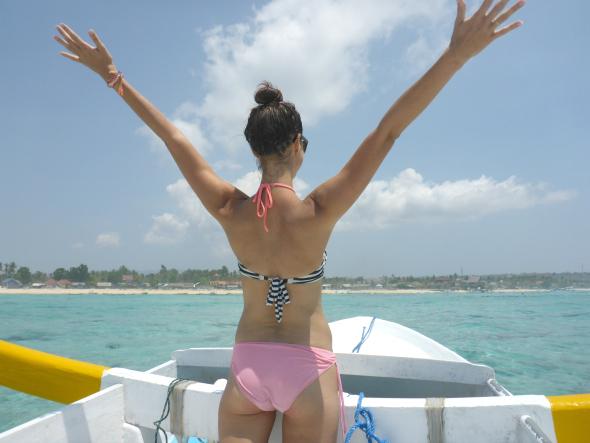 nusa snorkelen boot