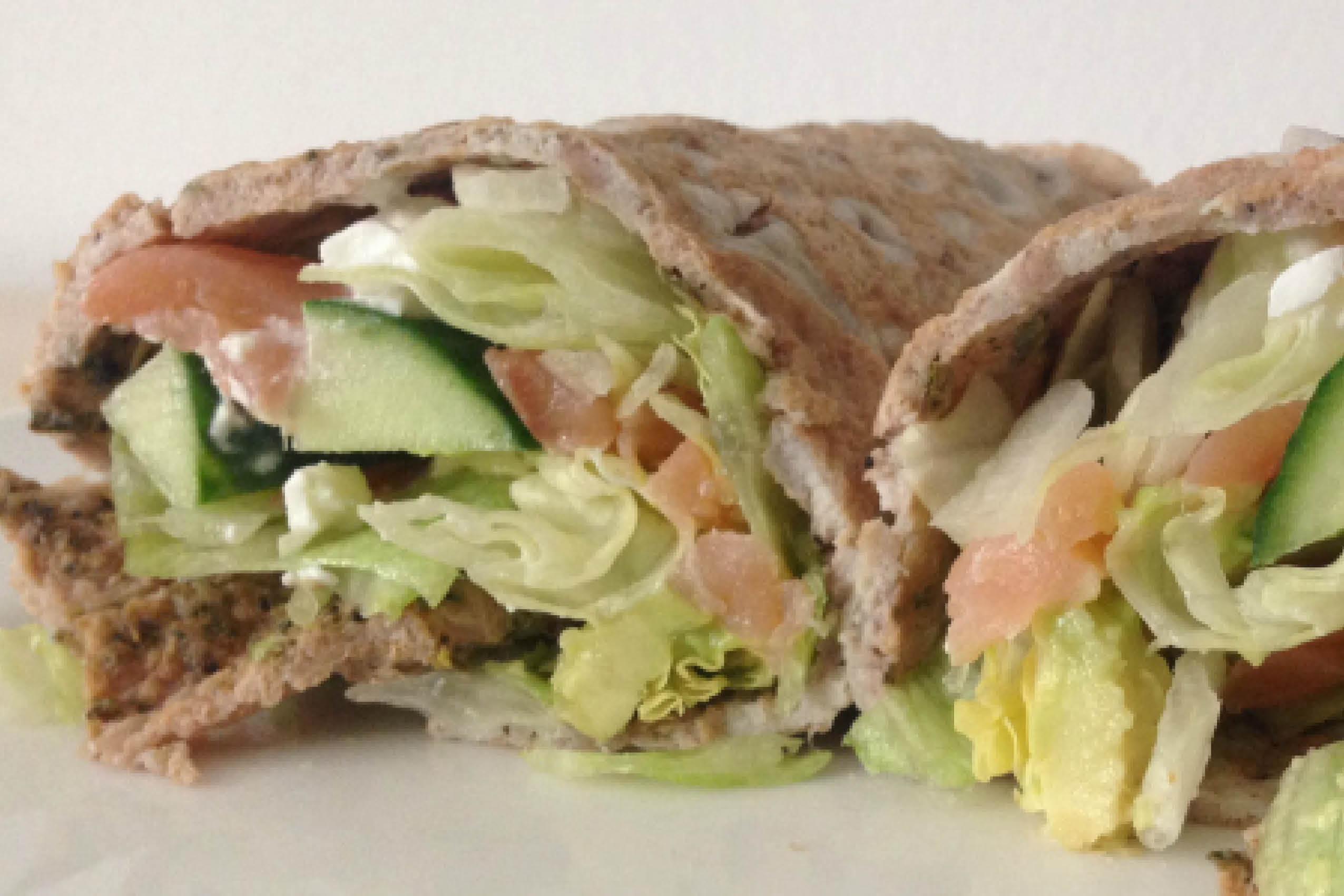 Lunch, ILH, wrap, ei