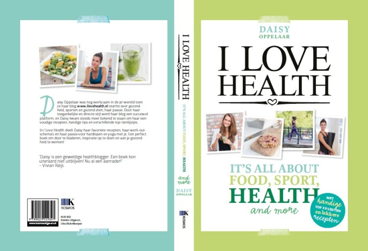 omslag cover i love health boek