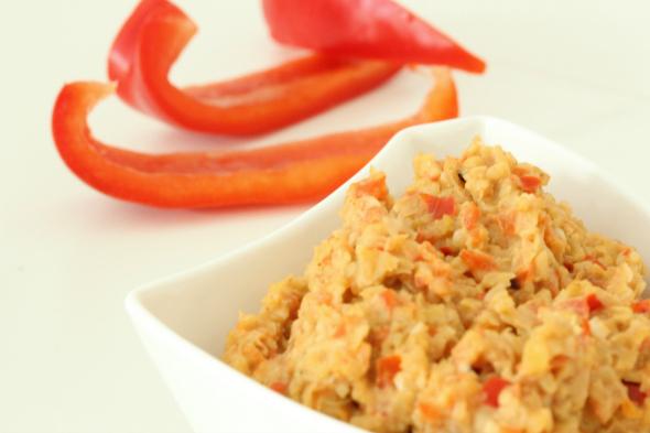 paprika hummus kikkererwten kiemen