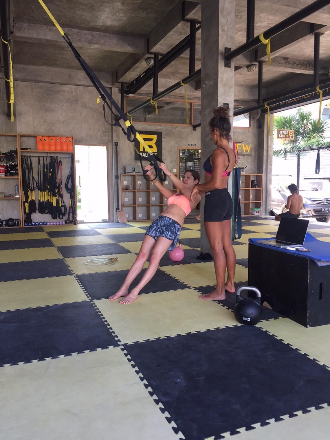 personal training i love health retreat bali