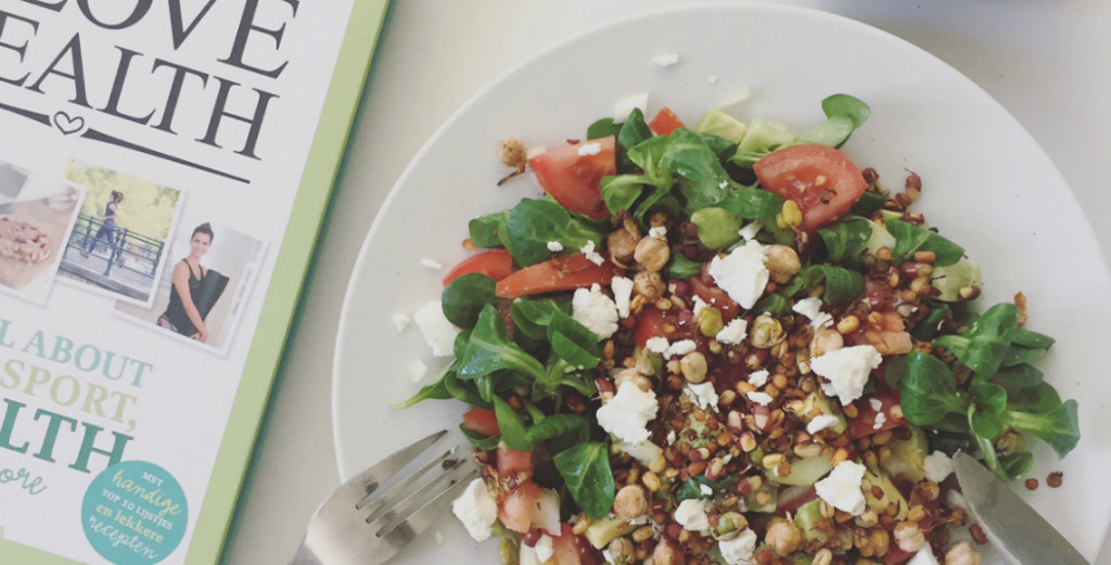 peulvruchten salade, peulvruchten kiemen