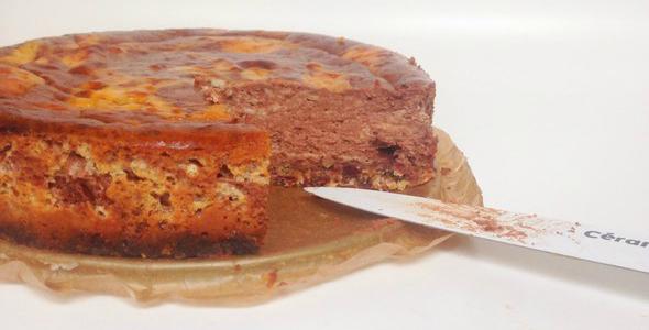 philadelphia choco cheesecake, gezonde toetjes