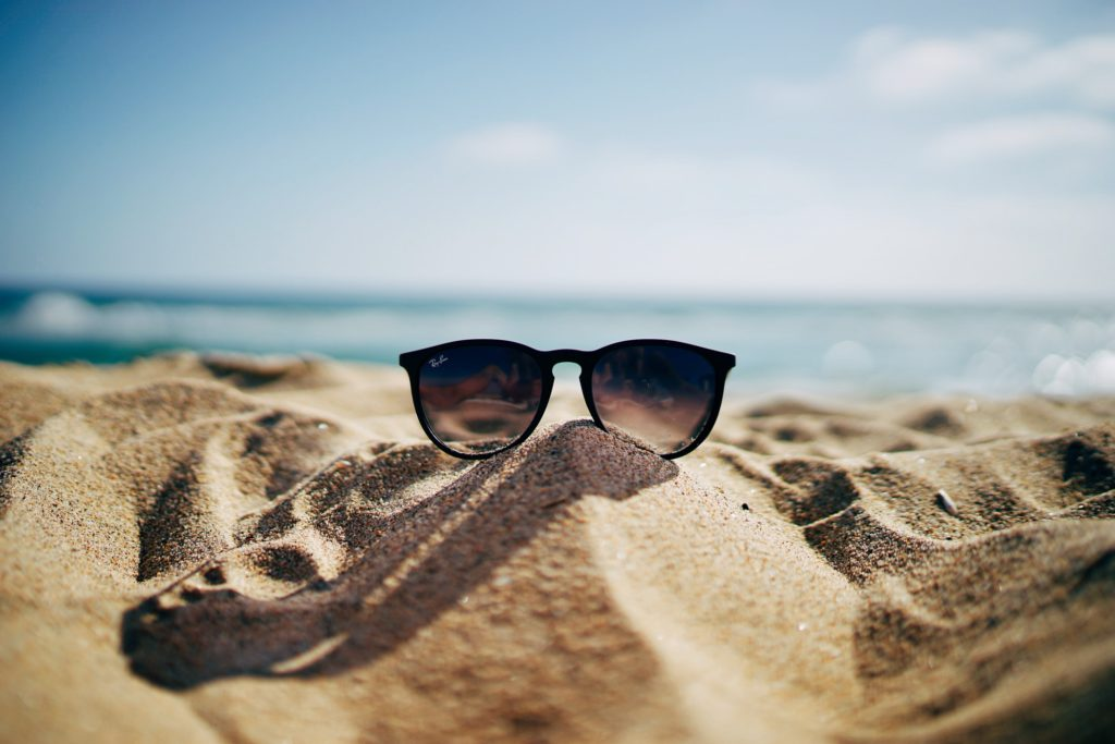 Hitteplan, zomer, strand