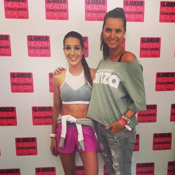 photo diary juni (16) Glamour Health Challenge Kayla Itsines