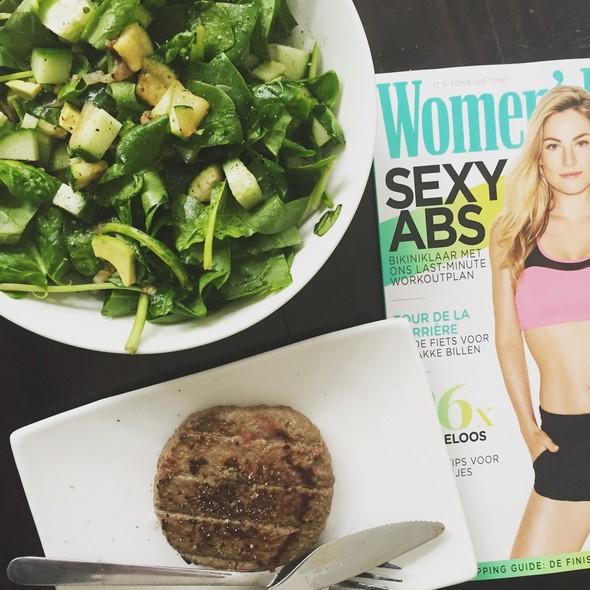 photo diary juni (17) women's health, salade