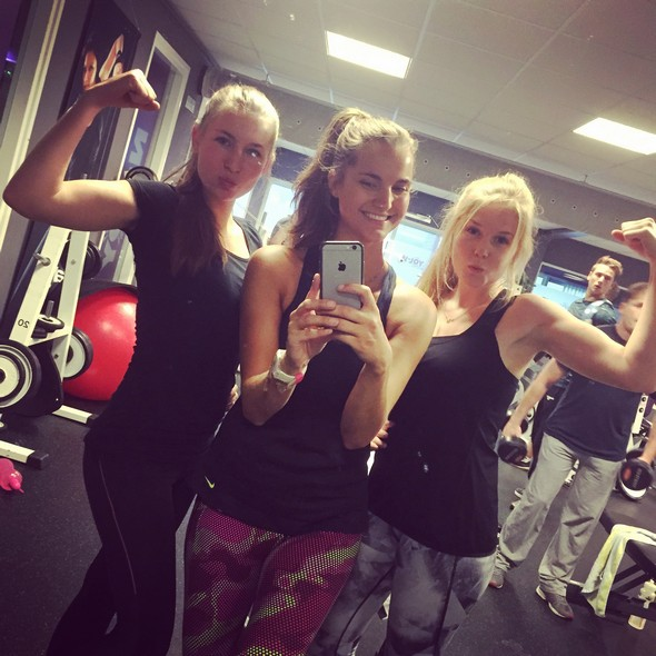 gym fitness photo diary