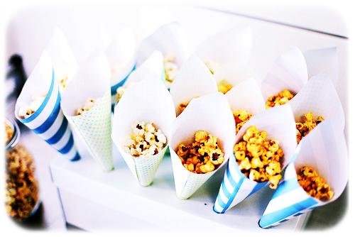 Popcorn voor een goed humeur