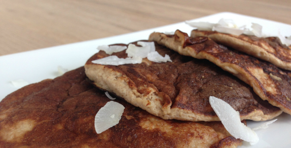 proteine pannenkoekjes gezonde pannenkoek