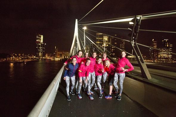 Puma Ignite Rotterdam, hardlopen in de winter