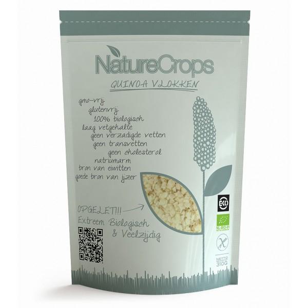 NatureCrops Quinoa Vlokken voor recept quinoa aubergine rolletjes
